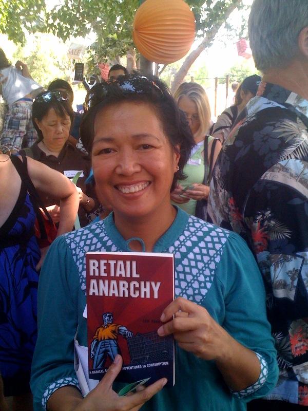 Raffle Winner of a copy of Retail Anarchy by Sam Pocker